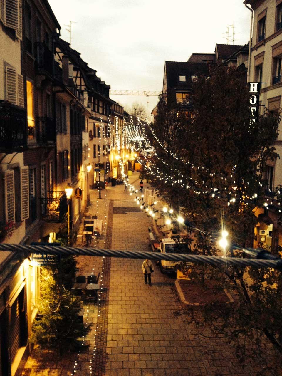 Sogeca illuminations Strasbourg guirlande