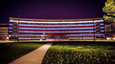 Sogeca illumination université Strasbourg sur mesure